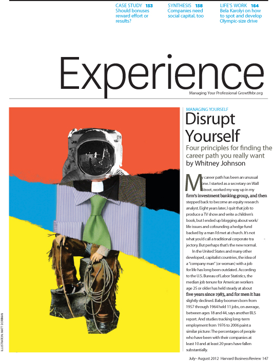 disrupt yourself by whitney johnson pdf