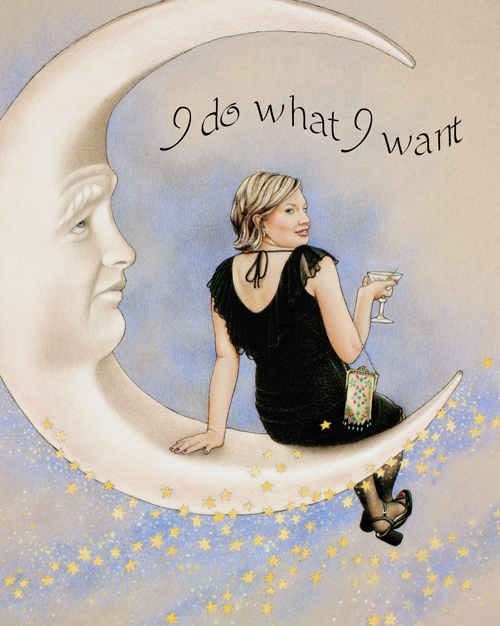 """""""I Do What I Want"""" by Sue Shanahan"""