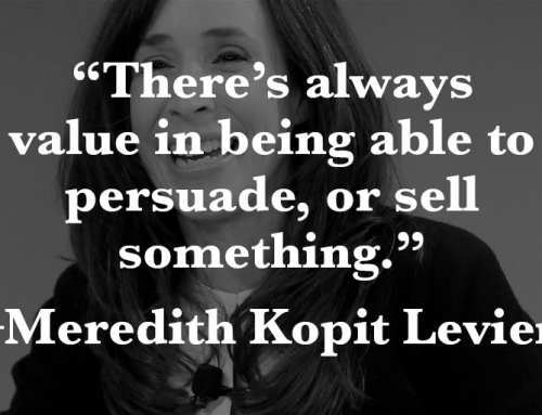 Meredith Kopit-Levien––On the Front Line of Journalism
