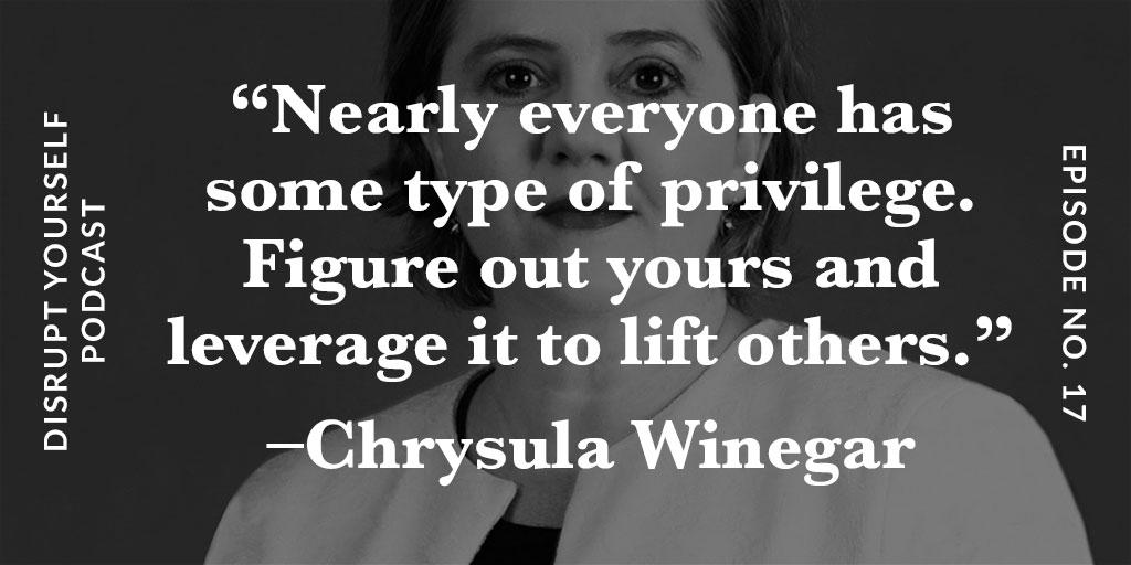 Chrysula Winegar Disrupt Yourself Podcast
